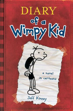 Diary of a Wimpy Kid #1: A Novel in Cartoons