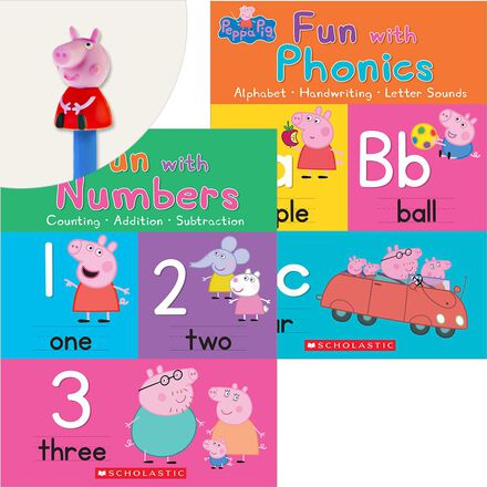 Peppa Pig Workbook Pack