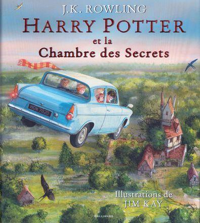 Harry Potter et la Chambre des Secrets (édition illustrée)  - Tome 2