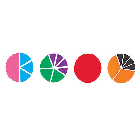 Fractions multicolores : Cercles