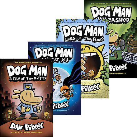 Dog Man #1-#8 Pack