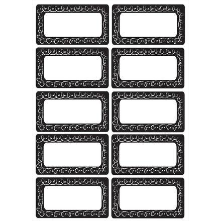 Magnetic Name Plates: Large Chalk Loop