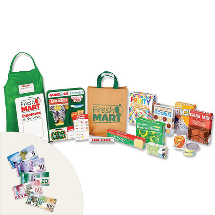 Fresh Mart Grocery Store Play Set Pack
