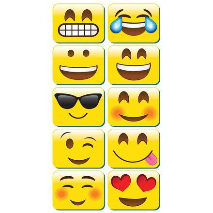Mini Whiteboard Erasers: Emojis
