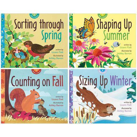Math Through the Seasons 4-Pack
