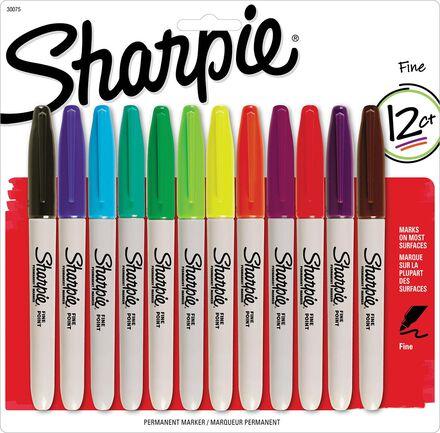 Marqueurs Sharpie® : pointe fine