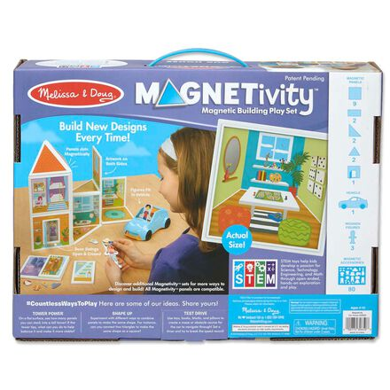 Magnetivity - Magnetic Building Play Set: Our House