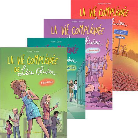 Collection La vie compliquée de Léa Olivier en BD
