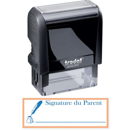 Trodat® Parent Signature Self-Inking Stamp: French
