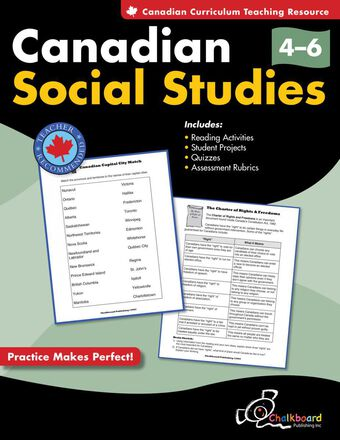 Canadian Social Studies Gr. 4-6