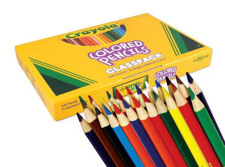Crayola ® Colored Pencil Classpack (240)