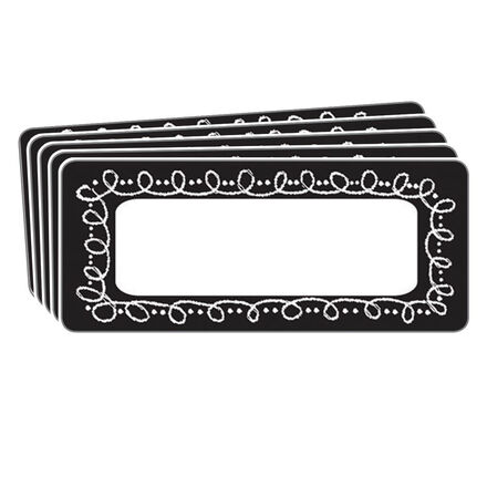 Magnetic Name Plates: Small Chalk Loop