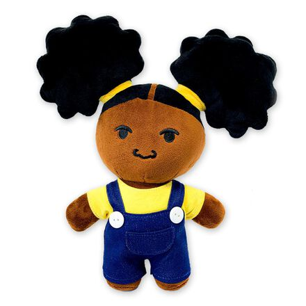 Black Plush Dolls: Zuri