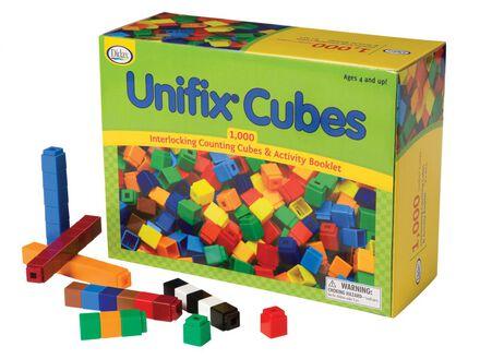 Cubes Unifix (1000)
