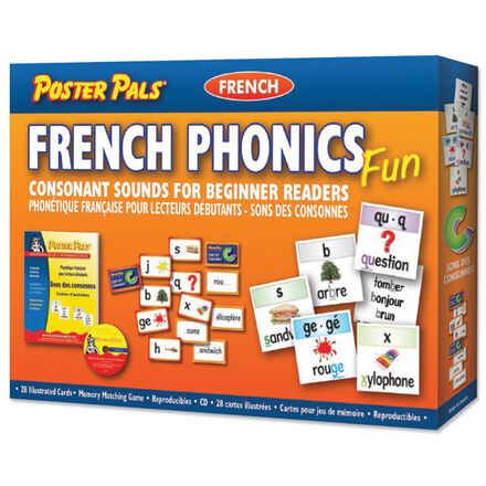 French Phonics Fun Consonant Sounds for Beginner Readers