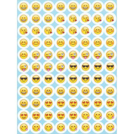 Mini Emoji Stickers
