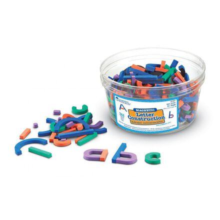 Construction de lettres magnétiques