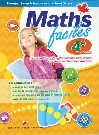 Maths faciles for French Immersion - Grade 4