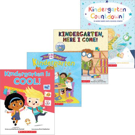 Get Ready for Kindergarten Pack