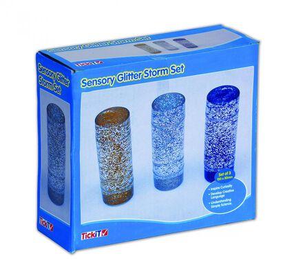 Sensory Glitter Storm Set