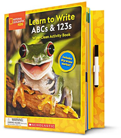 National Geographic Kids: Learn to Write ABCs & 123s