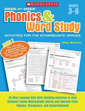 Week-by-Week Phonics & Word Study Activities for the Intermediate Grades
