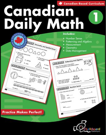 Canadian Daily Math Gr. 1