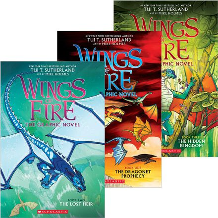 Wings of Fire Graphic Novels #1 - #3 Pack