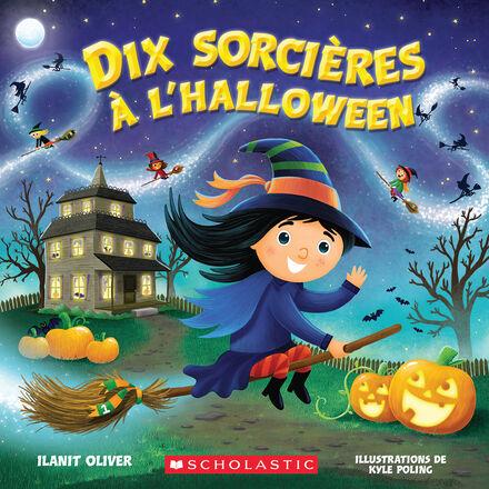 Dix sorcières à l'Halloween