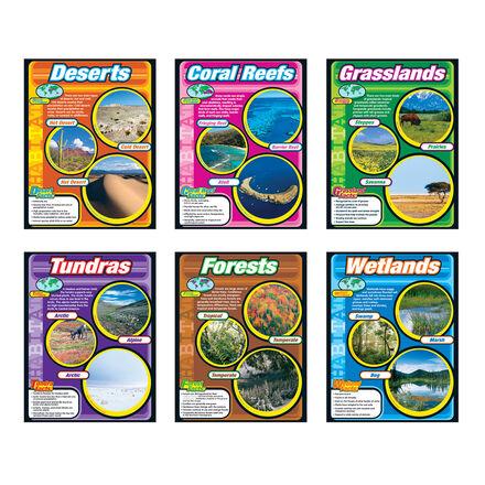 Habitats Charts 6-Pack