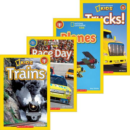 National Geographic Kids: Things That Go Pack