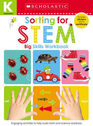 Scholastic Early Learners: Kindergarten Big Skills Workbook: Sorting for Stem