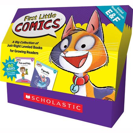First Little Comics Classroom Set: Levels E & F