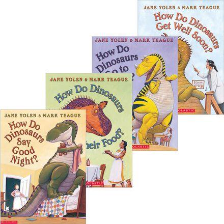 How Do Dinosaurs  Book & CD 4-Pack