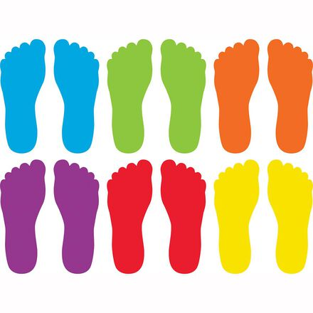 Spot On® Carpet Markers: Feet