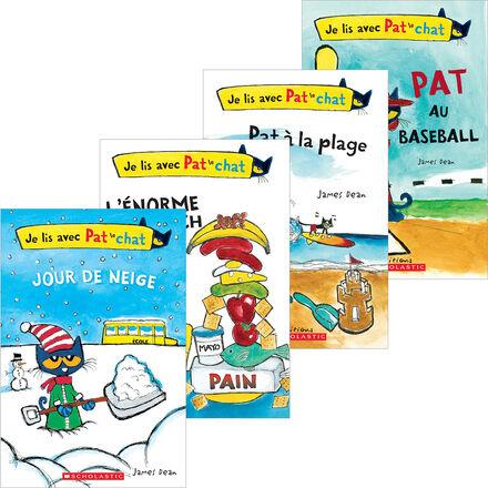 Collection Je lis avec Pat le chat : 14 premières lectures