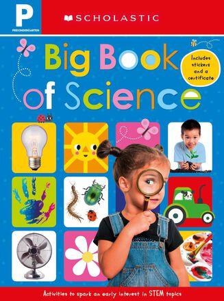 Scholastic Early Learners Pre-Kindergarten: Big Book of Science Workbook
