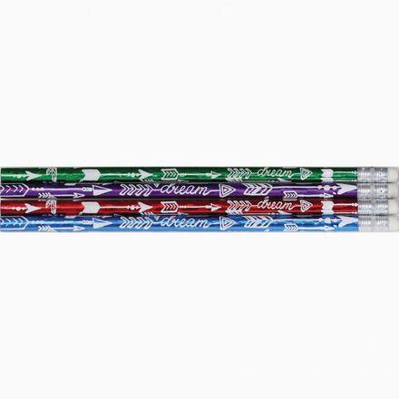 Dream Arrow Glitz Designer Pencils