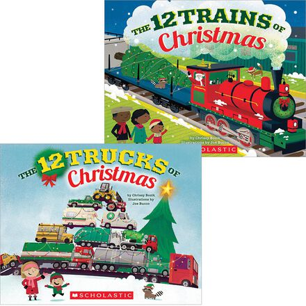 12 Vehicles of Christmas Pack