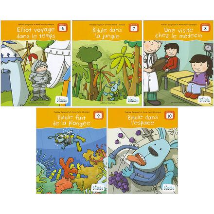 Livrets Bidule : niveau C, livres 6 à 10