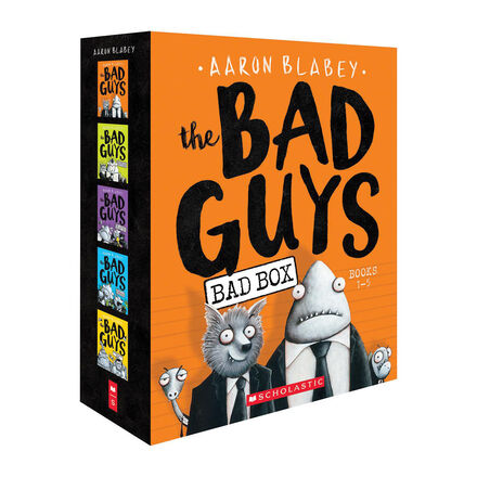 The Bad Guys Bad Box: Books 1-5