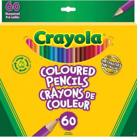 Crayons de couleur Crayola® (60)