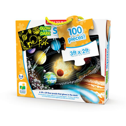 Puzzle Doubles! Glow In The Dark: Space