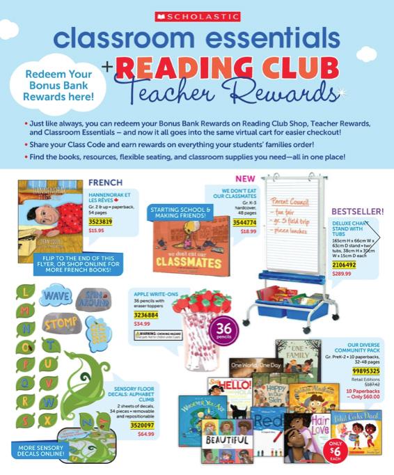 Classroom Essentials + Reading Club