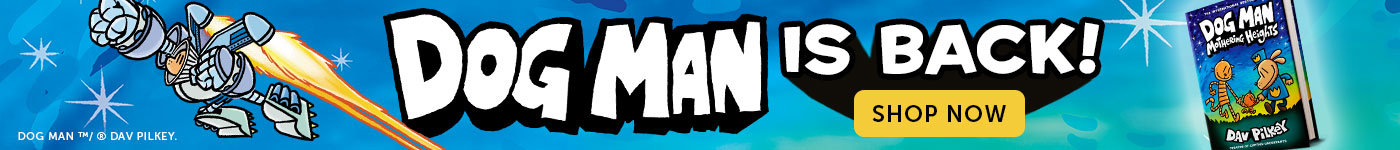 Dog Man is back! Shop Now.