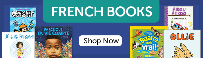 French Books. Shop Now.