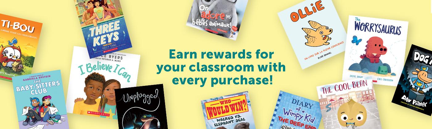 Obtenez des récompenses pour votre classe à chaque achat!