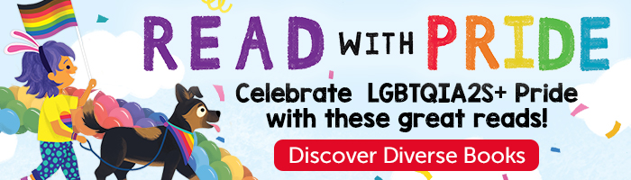 Read with Pride. Celebrate LGBTQIA2S+ Pride with these great reads! Discover Diverse Books.
