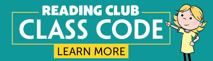 Reading Club Class Code! Learn More.
