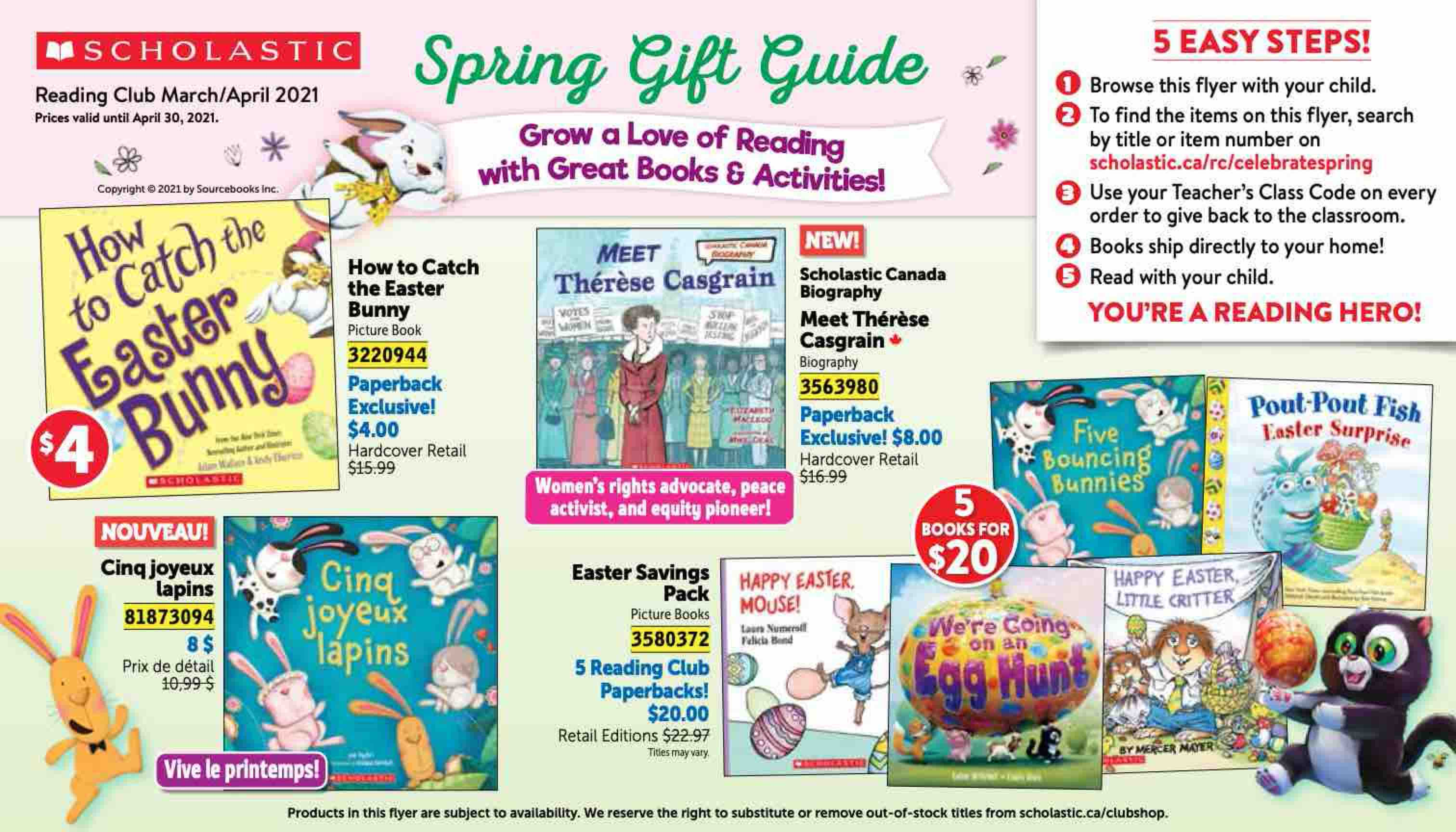 Spring Gift Guide March/April 2021